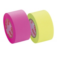 Refill for Memoc Roll Tape (Self-Stick Paper Tape) Fluorescent color 25mm width  (2 roll-pack)