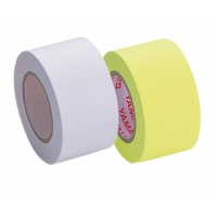 Refill for Memoc Roll Tape (Self-Stick Paper Tape) Fluorescent color and recycled paper 25mm width  (2 roll-pack)