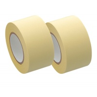 Refill for Memoc Roll Tape (Self-Stick Paper Tape) Recycled paper 25mm width  (2 roll-pack)