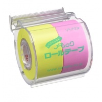 Custom Memoc Roll Tape with original print on the dispenser