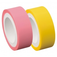 Refill for Memoc Roll Tape Film Type (Self-Stick Film Tape)  15mm width with dispenser (contained 2 rolls)